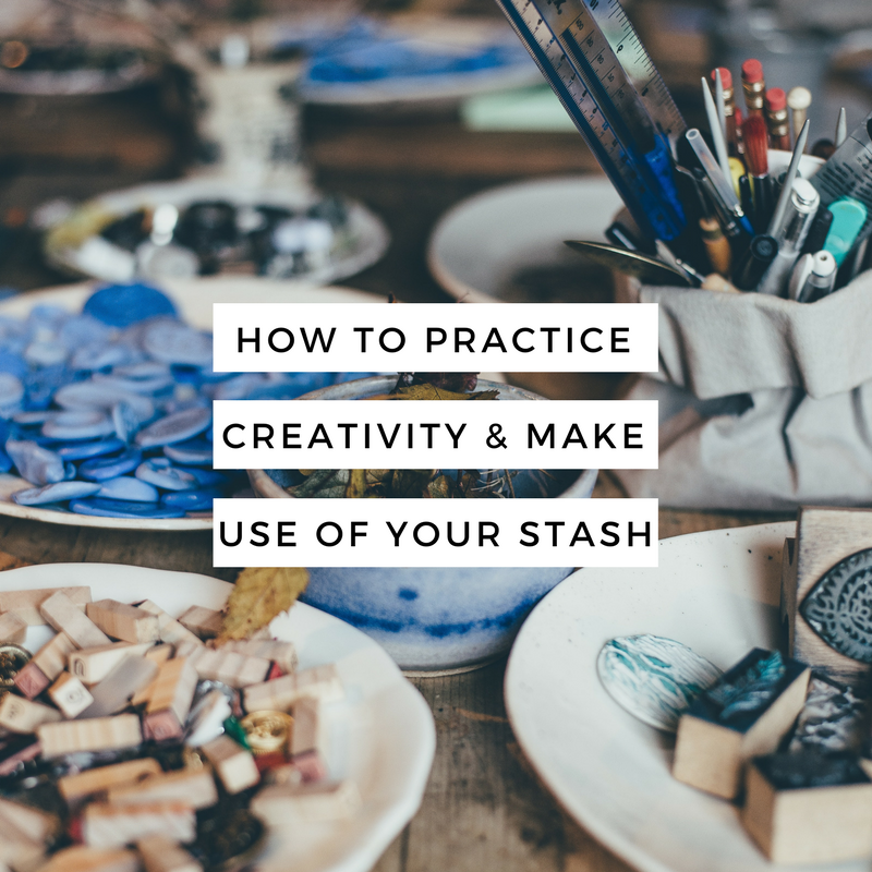 Piecing It Together: How to Practice Creativity and Make Use of Your Stash